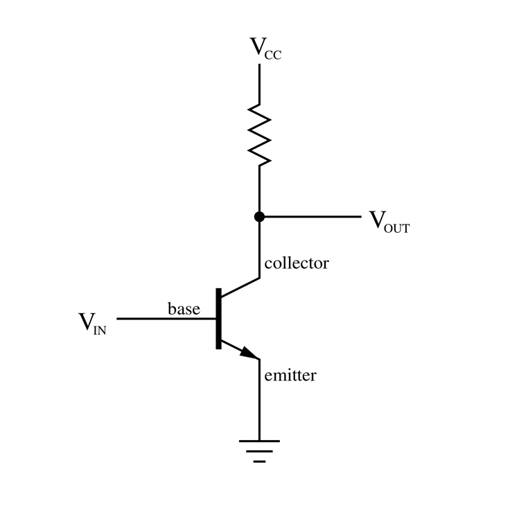 diagram of the transistor